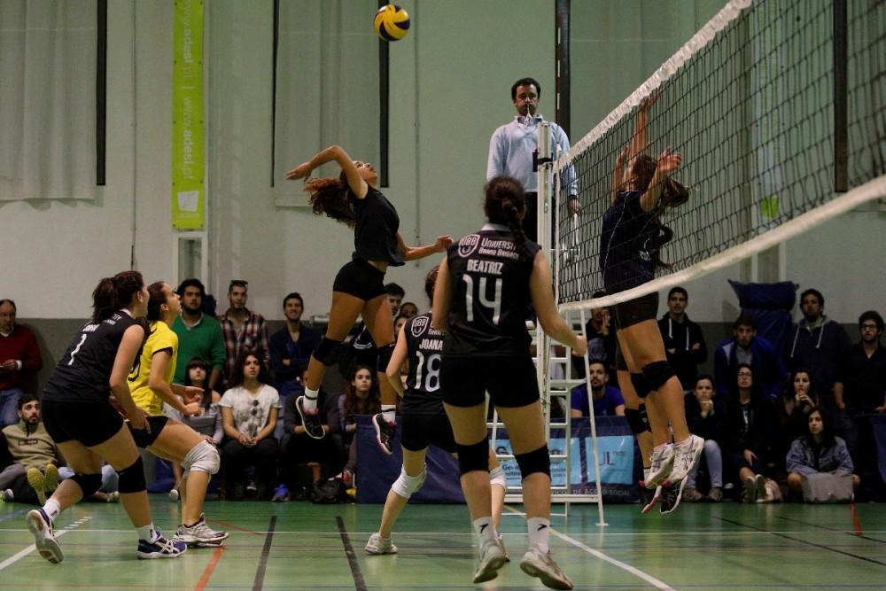 94902c2f19 Nos dias 17 e 18 de Março decorreram as meias-finais das Fases Finais dos Campeonatos  Universitários de Lisboa