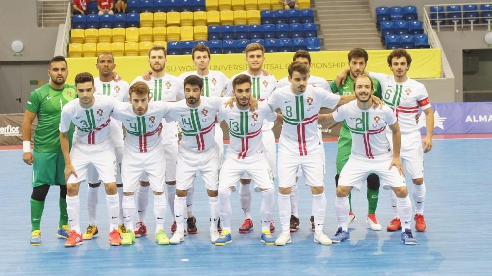 A Seleção Nacional Universitária de futsal masculino entrou a vencer no  Campeonato do Mundo Universitário 1d1d83a02e49b