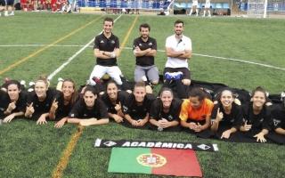 AAC/Universidade de Coimbra sagra-se campeã europeia universitária de futebol