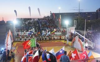 Praia de Matosinhos recebeu a cerimónia de abertura do Europeu 3x3