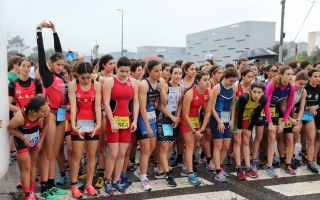 Gil Maia e Madalena Almeida sagraram-se campeões no Duatlo