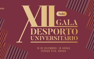 XII Gala do Desporto Universitário será em Braga