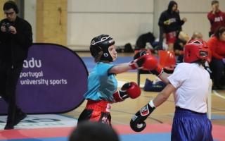 AAUM e U.Porto em destaque no Kickboxing
