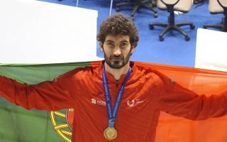Júlio Ferreira ganhou o bronze no taekwondo