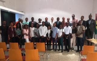 FADU representada no I Fórum do Desporto Universitário de São Tomé e Príncipe
