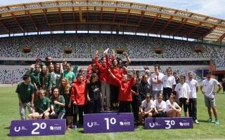 Universidade do Porto venceu troféu coletivo em atletismo ar livre