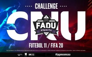 FADU estreia-se nos eSports com o Challenge CNU Futebol 11 no FIFA 20