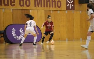 Académicas do Minho, Aveiro, Trás-os-Montes e Coimbra apuraram-se no futsal feminino