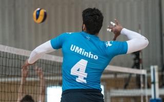 Voleibol: Minho e Aveiro nas fases finais, AAUTAD no play-off