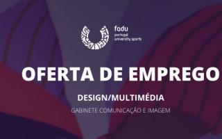 FADU procura criativo para Gabinete de Comunicação e Imagem