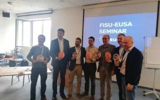 FADU e CEU de Futebol 2017 tidos como exemplos em seminário da EUSA
