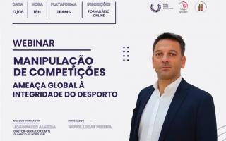 FADU organiza webinar sobre manipulação de competições